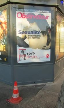 cône de lübeck,cône de chantier,sexualité,affiche