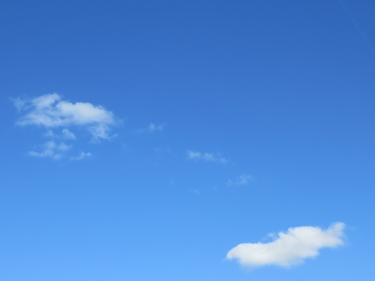 ciel,ciel bleu,nuages