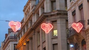 illuminations,cœur,love,fête des lumières 2012