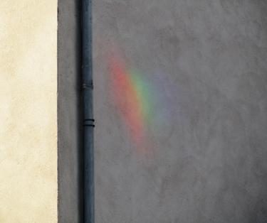 couleur,arc-en-ciel,reflet,mur