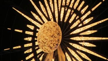 roue,lumière,illumination,nuit