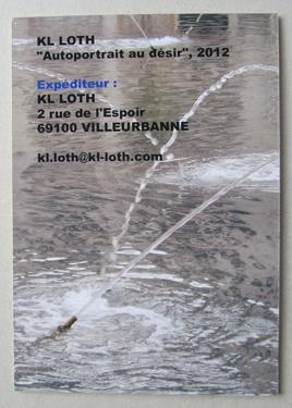 kl loth,art,art contemporain,langage,désir,moite,mail art,art postal