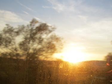 coucher de soleil,ciel,nuages