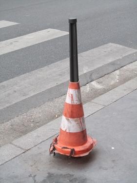 cône de chantier,cône de lübeck,ville,urbain