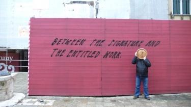 monsieur Bouton,la mercerie,michel jeannès,art,art contemporain,venise