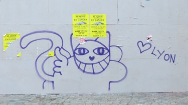 M. Chat,monsieur Chat,graff,graffiti,streetart,street art,chat
