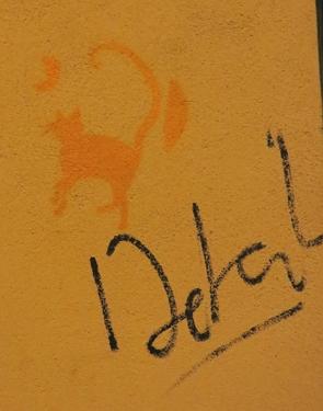 chat,graff,graffiti,pochoir,stencil