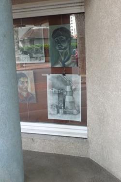 cône de chantier,cône de lübeck,dessin,artiste amateur