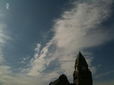 gare de metz,ciel,nuages