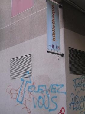 élévation,graff,graffiti,mur,urbain,bibliothèque,lecture
