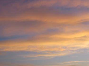 ciel,nuages,lever du jour
