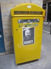 ville,urbain,rue,disobey,affiche,street art,streetart