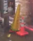 cônes de Lübeck,cônes de chantier,signalisation