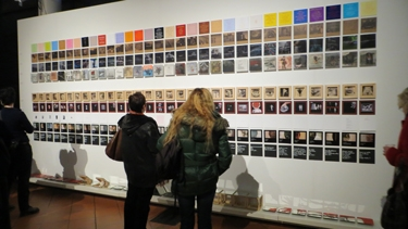 art, exposition, art contemporain, polaris, kl loth, les [h]auteurs, œuvre collective, mots, textes, images
