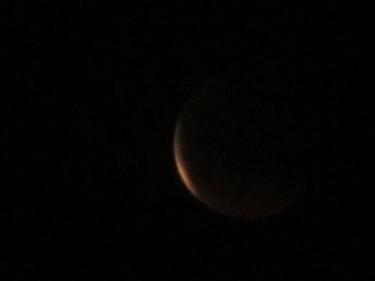 ciel,lune,éclipse,15 juin 2011