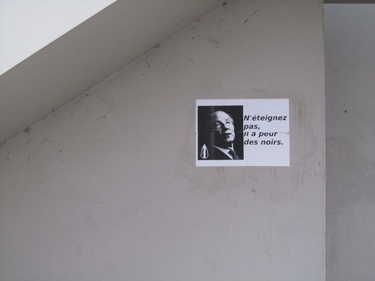affiche,street art,streetart,racisme,Hortefeux