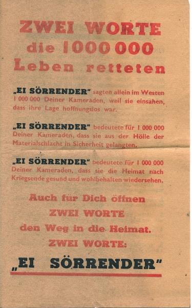 guerre,Deuxième guerre mondiale,défaite,allemagne,tract