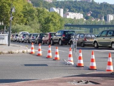 trafic,cône de lübeck,cône de chantier,signalisation,circulation,ville