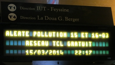 pollution,particules fines,transports en commun