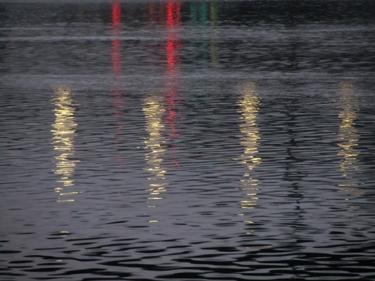 rhône,eau,fleuve,reflets,couchant,lumière,berges du rhône