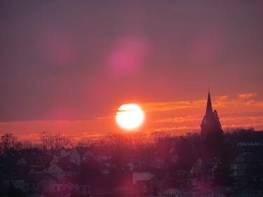 ciel,nuages,soleil,soleil levant,aube