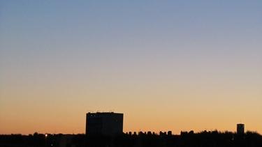 ciel,ciel bleu,couchant