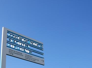ciel,ciel bleu,signalétique,ruedi baur