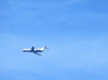 ciel,ciel bleu,avion