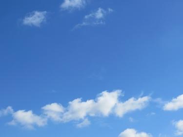 ciel,nuages,fleur,printemps
