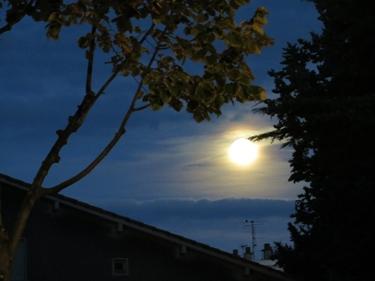 ciel,nuages,lune