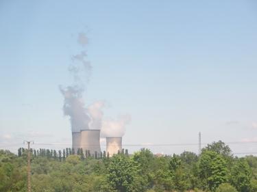 ciel,nuages, cattenom,centrale nucléaire