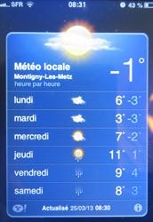 température,froid,vague de froid