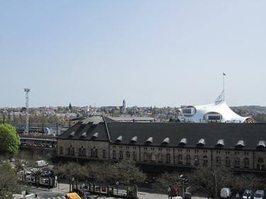 gare de Metz,gare,centre pompidou-metz,ciel bleu