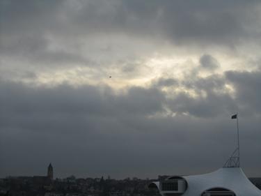 ciel,nuages,oiseau