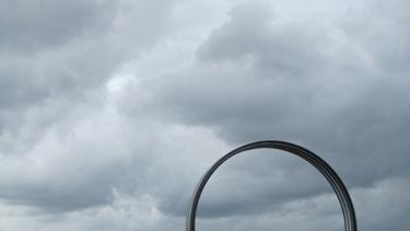 ciel,nuages,daniel buren,nantes,art,art contemporain