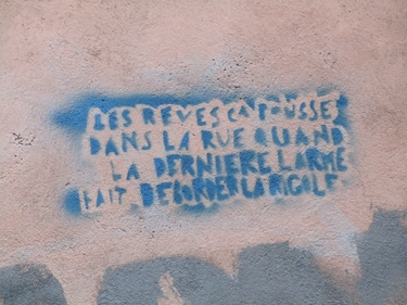 rêve,rue,ville,urbain,street art,streetart,pochoir,stencil
