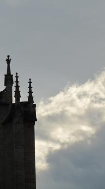 ciel,nuages,gothique